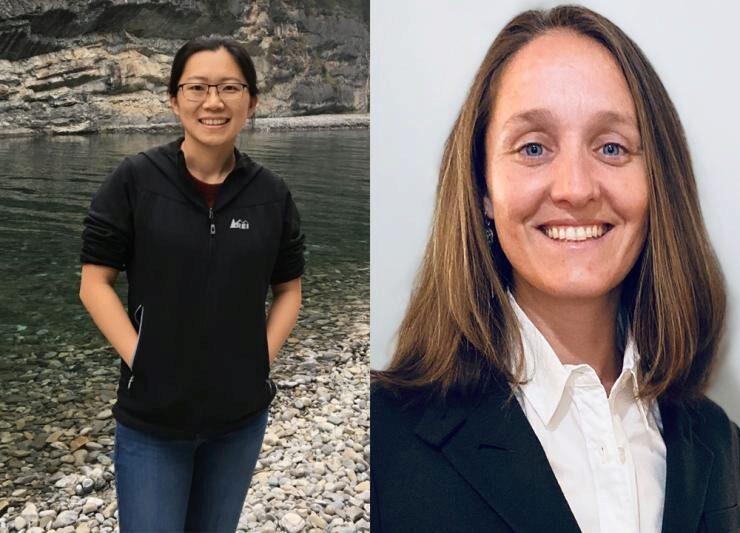 Georgia Tech 2020 Sloan Fellows are Yao Yao (Math) and Marta Hatzell (ME).