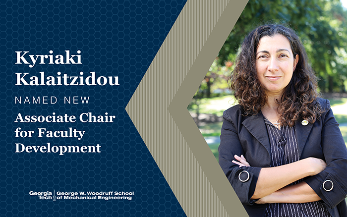 Kalaitzidou Named Associate Chair for Faculty Development
