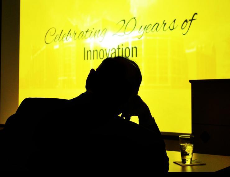 Bob Nerem silhouette portrait