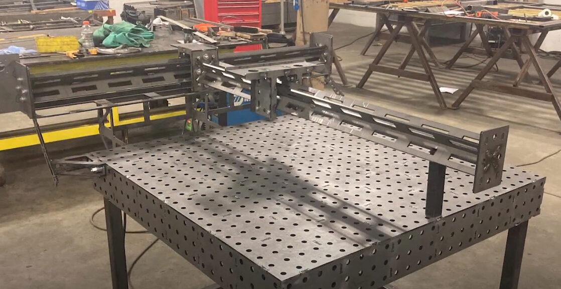 3-axis CNC plasma cutter