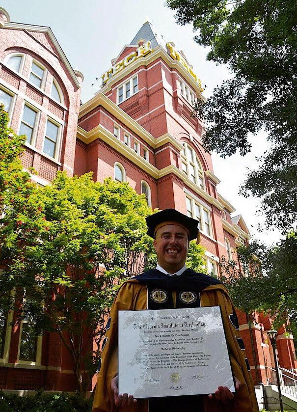 David_Graduation_Tech_Tower