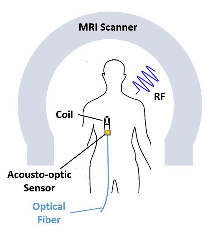 Schematic of sensor field