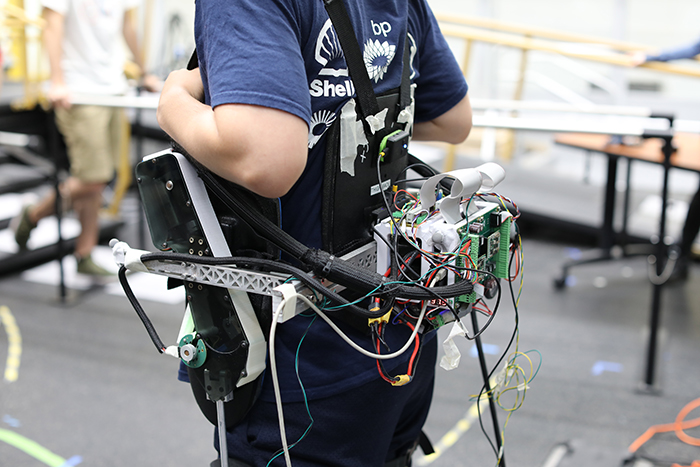 Hip Exoskeleton, designed and built at Georgia Tech
