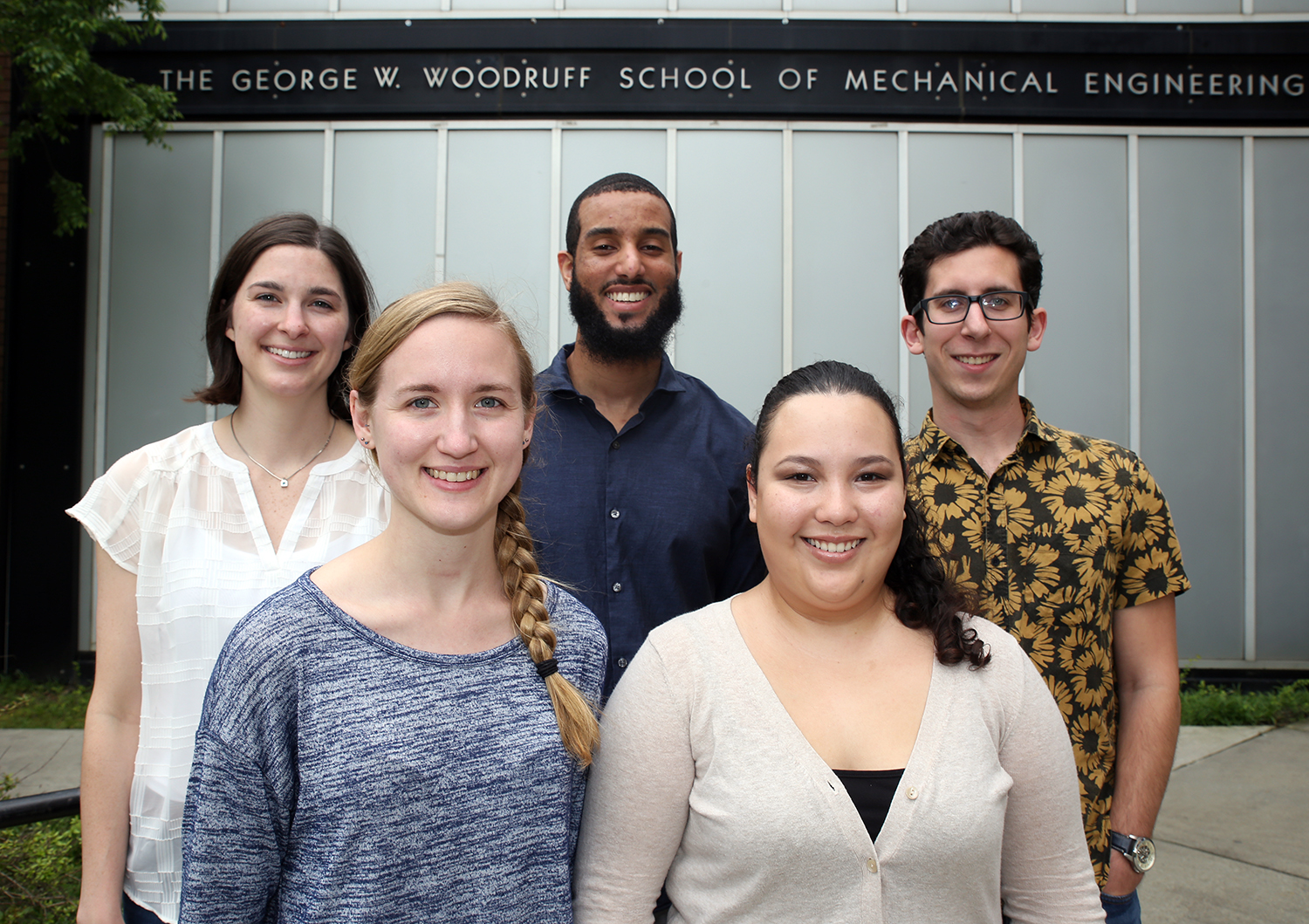 Woodruff School NSF Graduate Fellowship winners