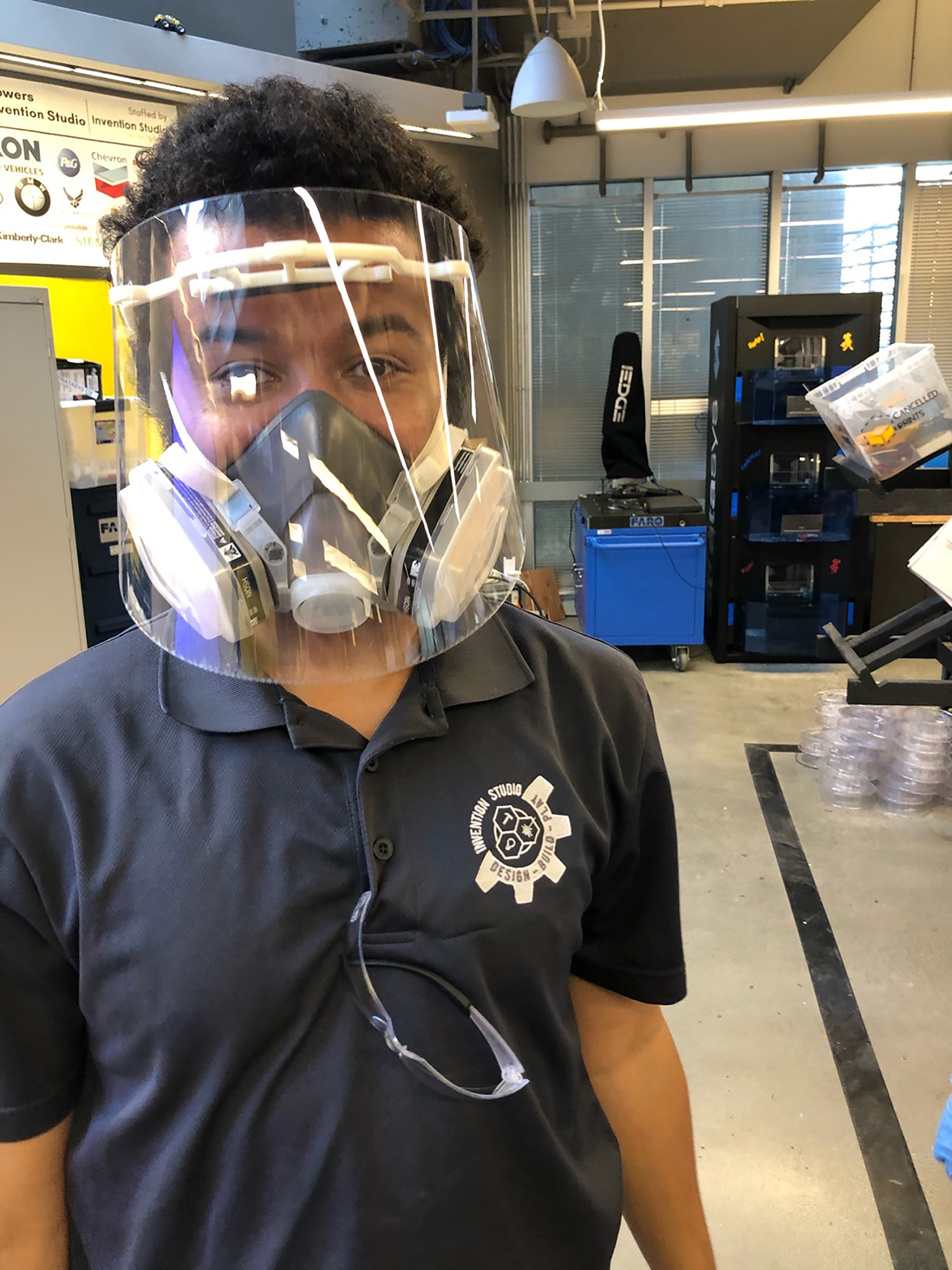 Georgia Tech is helping meet the need for face shields for health care workers.