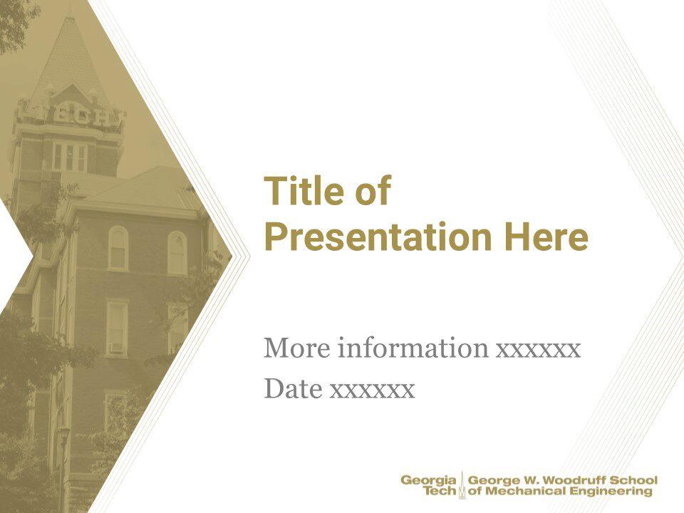 ME PowerPoint Standard