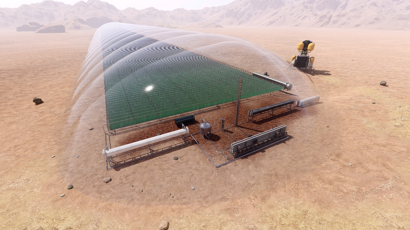 Martian Algae Farm