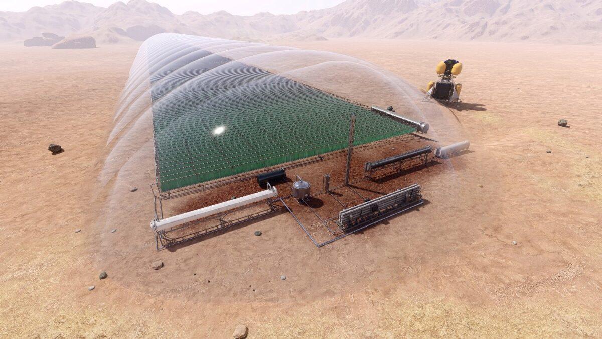 Martian Algae Farm