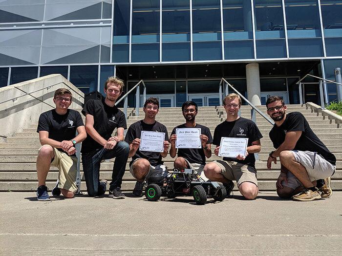 RoboJackets RoboRacing team picture