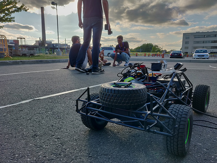 RoboJackets RoboRacing Vehicle