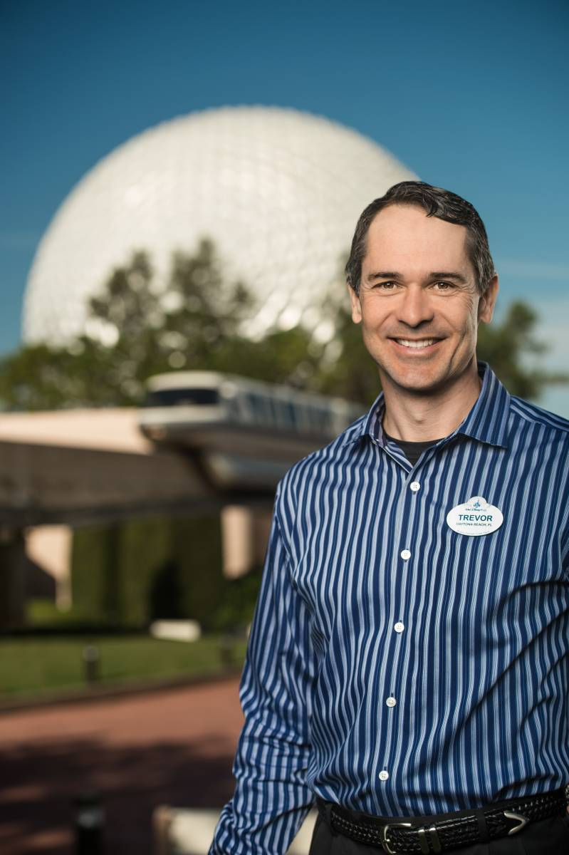 Trevor Larsen, Executive Vice President, Facilities & Operations Services, Walt Disney Parks and Resorts