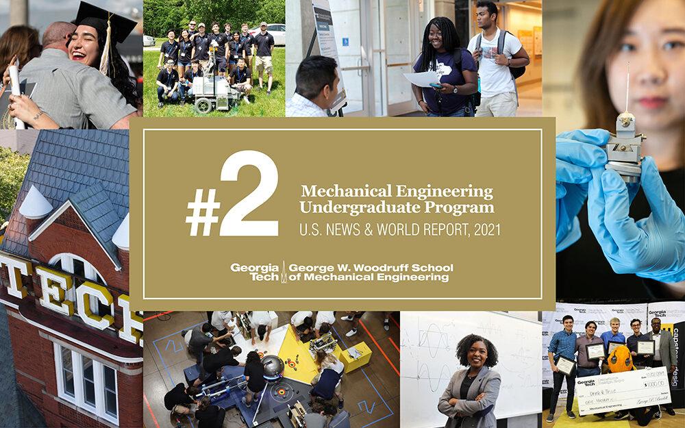 2021 US News & World Report Undergraduate Rankings