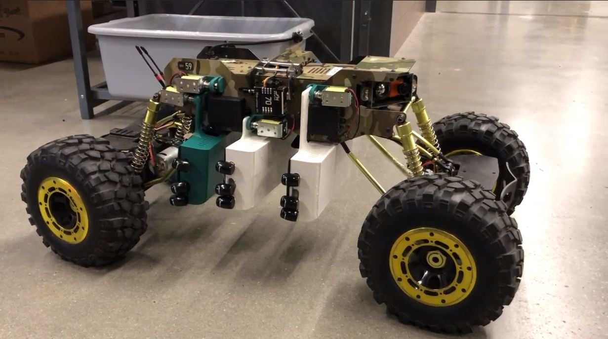 UGV with range extenders