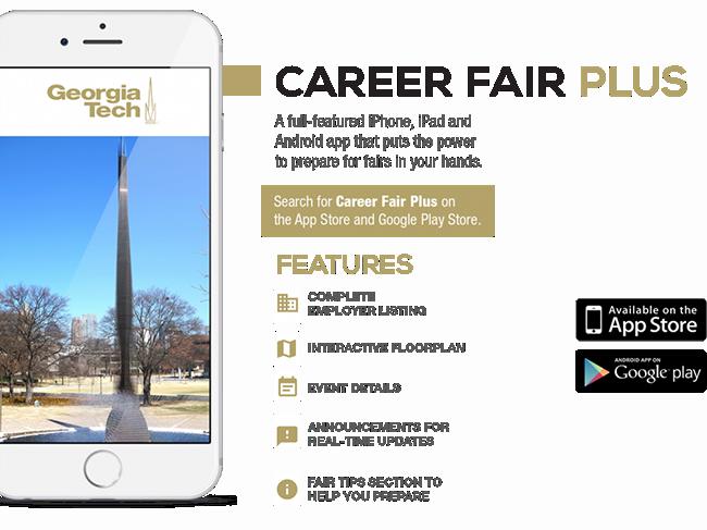 Career Fair Plus App