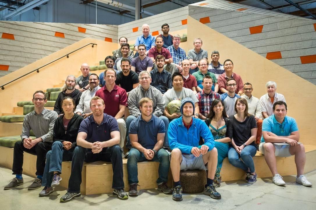 Frakes and his team at ATAP team at Google