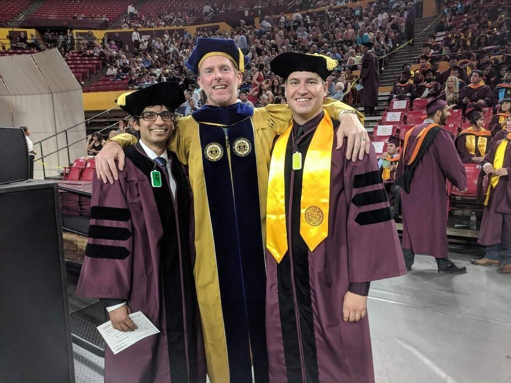 David Frakes at graduation