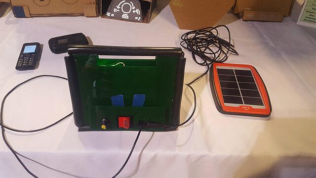 Team Geeky Builders prototype at Capstone Expo